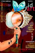 """LOUISE MACARON ©"" A ID D'ART ANNECY-LE-VIEUX."