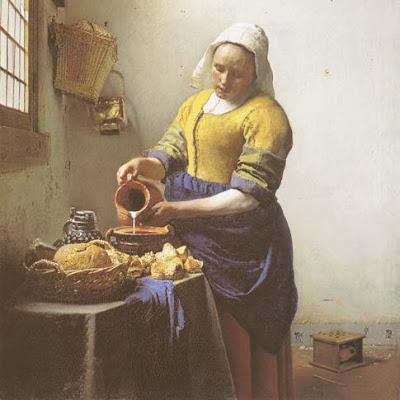 Johannes Vermeer 1melkmeisje