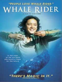 Whale Rider - New Zeland film Where the protagonist is also the Southern Right Whale