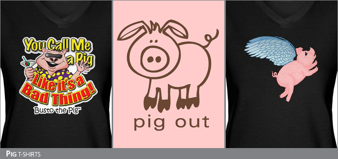 Pig t-shirts