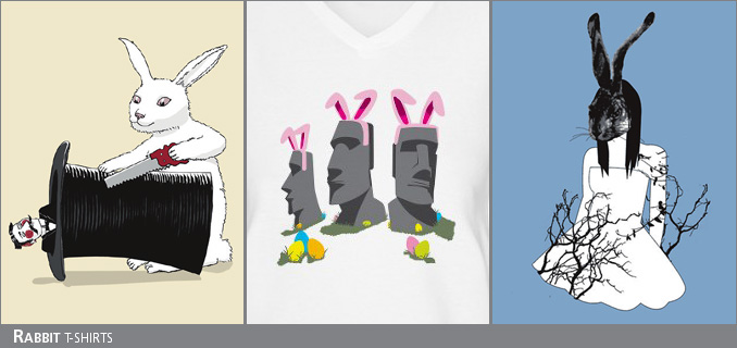 Rabbit t-shirts