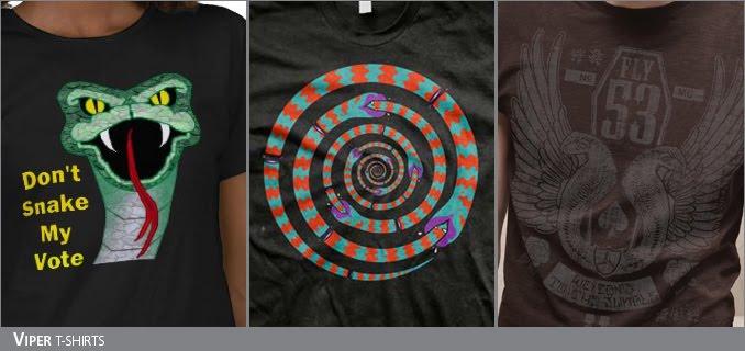 Viper/Snake t-shirts