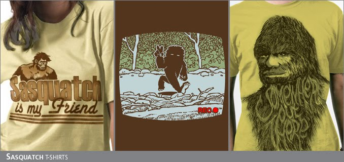 Sasquatch t-shirts