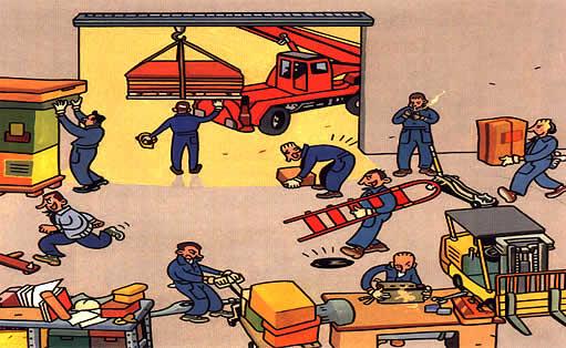 Factores de riesgo for Riesgos laborales en oficinas administrativas