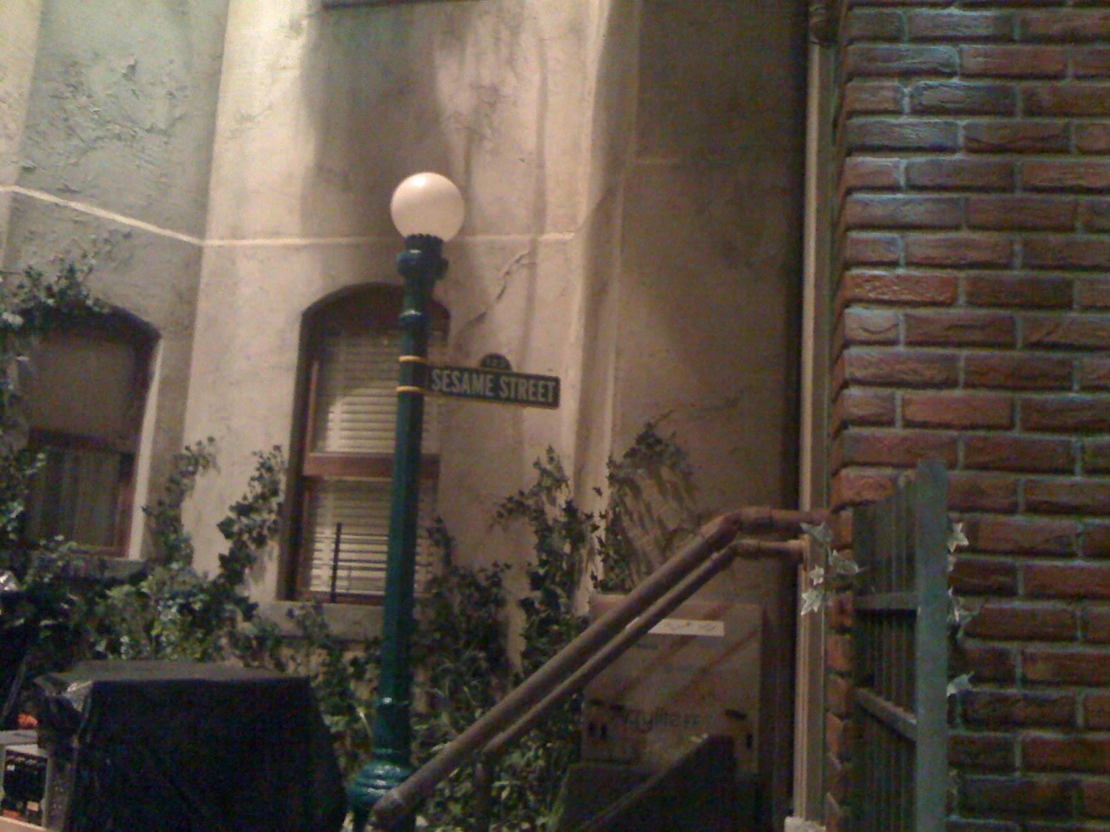 Sesame Street Set Tour Images & Pictures - Becuo Sesame Street Set Tour