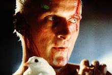 "Hutger Hauer em ""Blade Runner"""