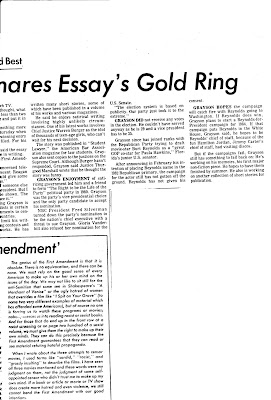brooklyn world hollywood sun tattler publishes article on richard  sun tattler today friday 10 1981 has an article on broward community college english teacher richard grayson winning the first amendment essay