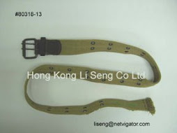 Eyelet Canvas Belt Manufacturer And Supplier - Hong Kong Li Seng Co Ltd