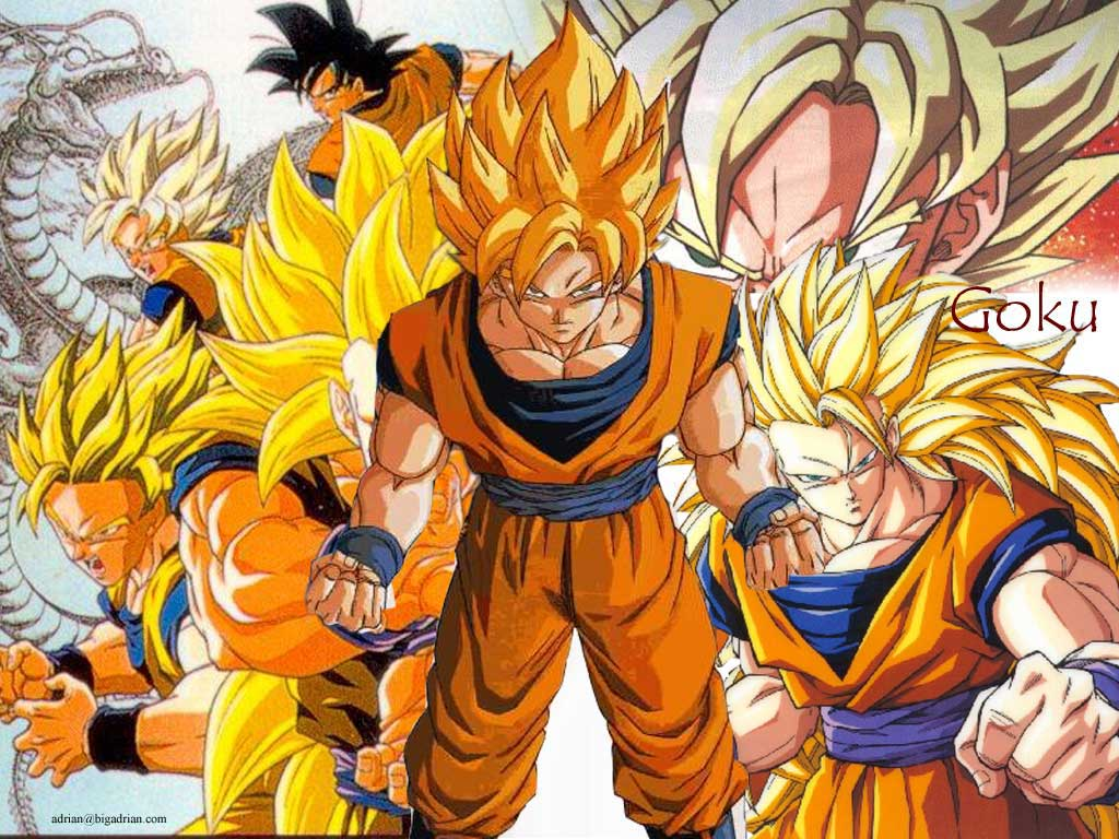 Dragon Ball Z Goku Strongest Form