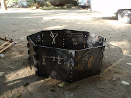 My awsome fire pit