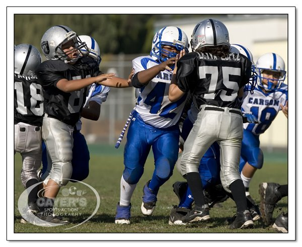 "Cayer's Sports Action Photography"": Carson Colts ""The little Guys"""