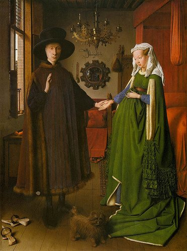 Giovanni Arnolfini and His Bride