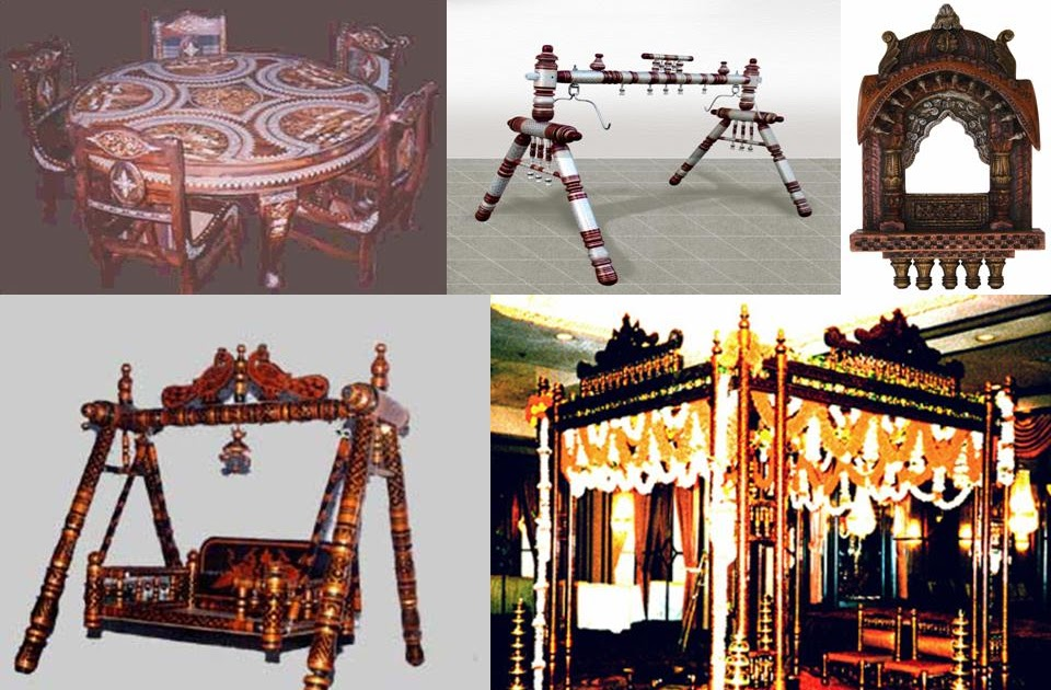 Solid Wood Furniture Online India