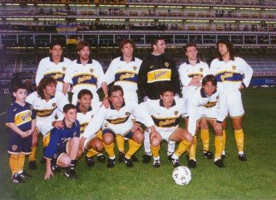 Kit Design, by eroj: 1996-1997 Boca Juniors (Home e Away)