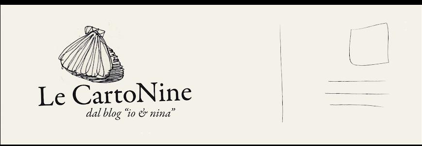 """""""Le CartoNine"""" dal blog Io & Nina - Cartoline d'autore"""