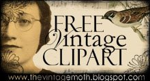 free vintage clipart: the vintage moth