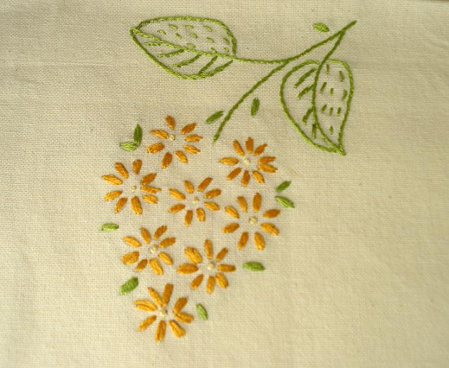 Easy Embroidery Flowers