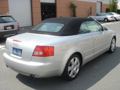 Audi A4 2004 Convertible. 2003 audi a4 cabriolet 3.0