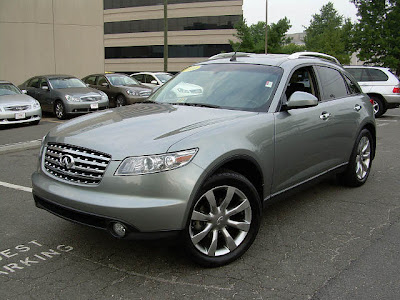 2007 Diamond Graphite infiniti fx35 crossover
