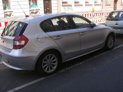 titanium silver BMW 1er E87