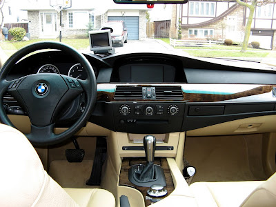 2005 bmw 5 series e60 interior