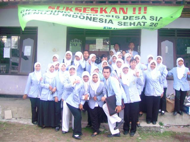 K3M (Kuliah Kerja kesehatan Masyarakat)