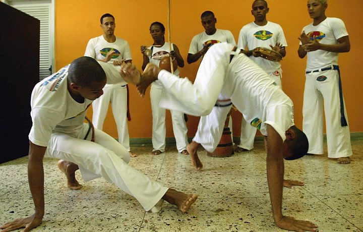 Capoeira - fight-