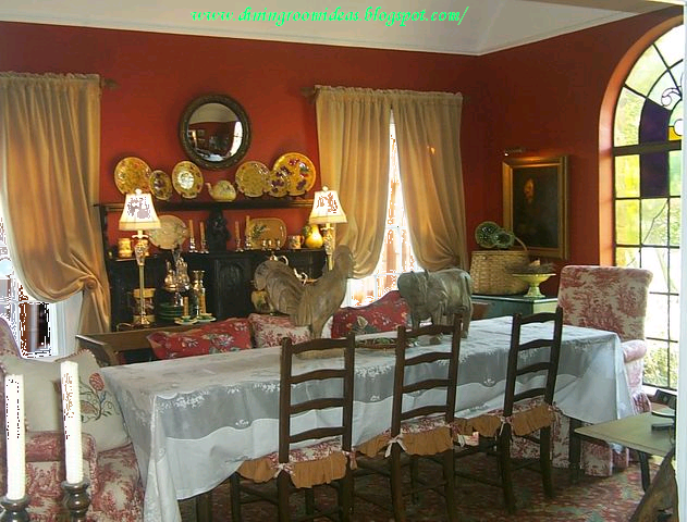 Dining room ideas dining room pictures dining room paint colors - Dining room design ideas with brave tone decoration ...