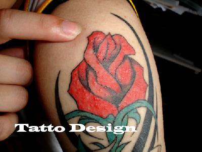 tattoo design for women tribal rose tattoo designs. Black Bedroom Furniture Sets. Home Design Ideas