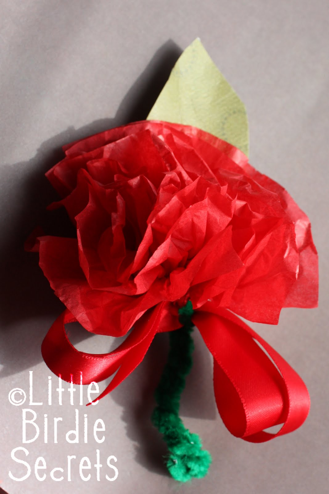 Carnation Corsage Tutorial For Little Hands To Make Little