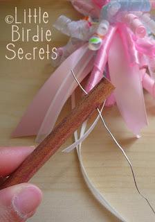 How to make a fairy princess ribbon wand little birdie secrets solutioingenieria Gallery