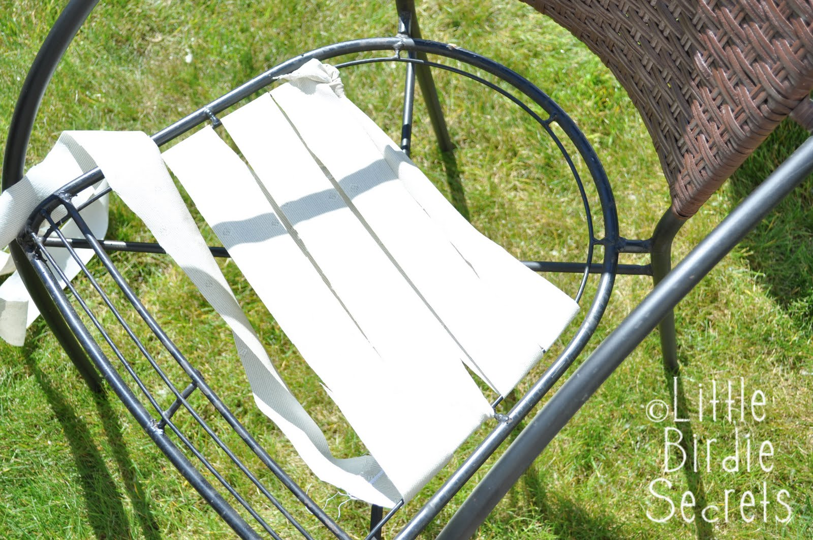 Patio Furniture Makeover Part 53