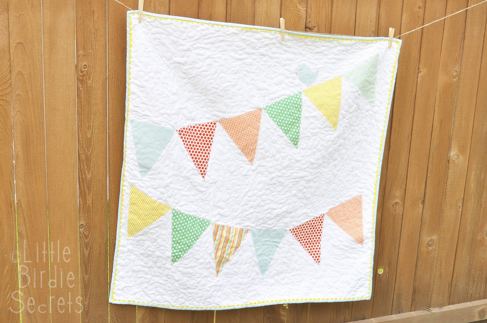 baby bunting banner quilt | Little Birdie Secrets : quilted baby bunting - Adamdwight.com