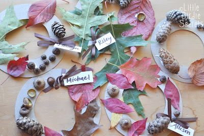 Preschool Craft Ideas on 19  Create Wreaths With Our Fall Nature Walk Collection
