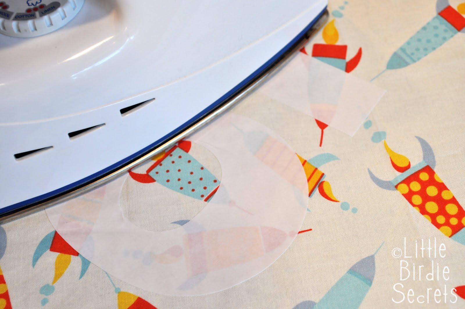 freezer paper applique template tutorial {why we love freezer paper} Little Birdie Secrets