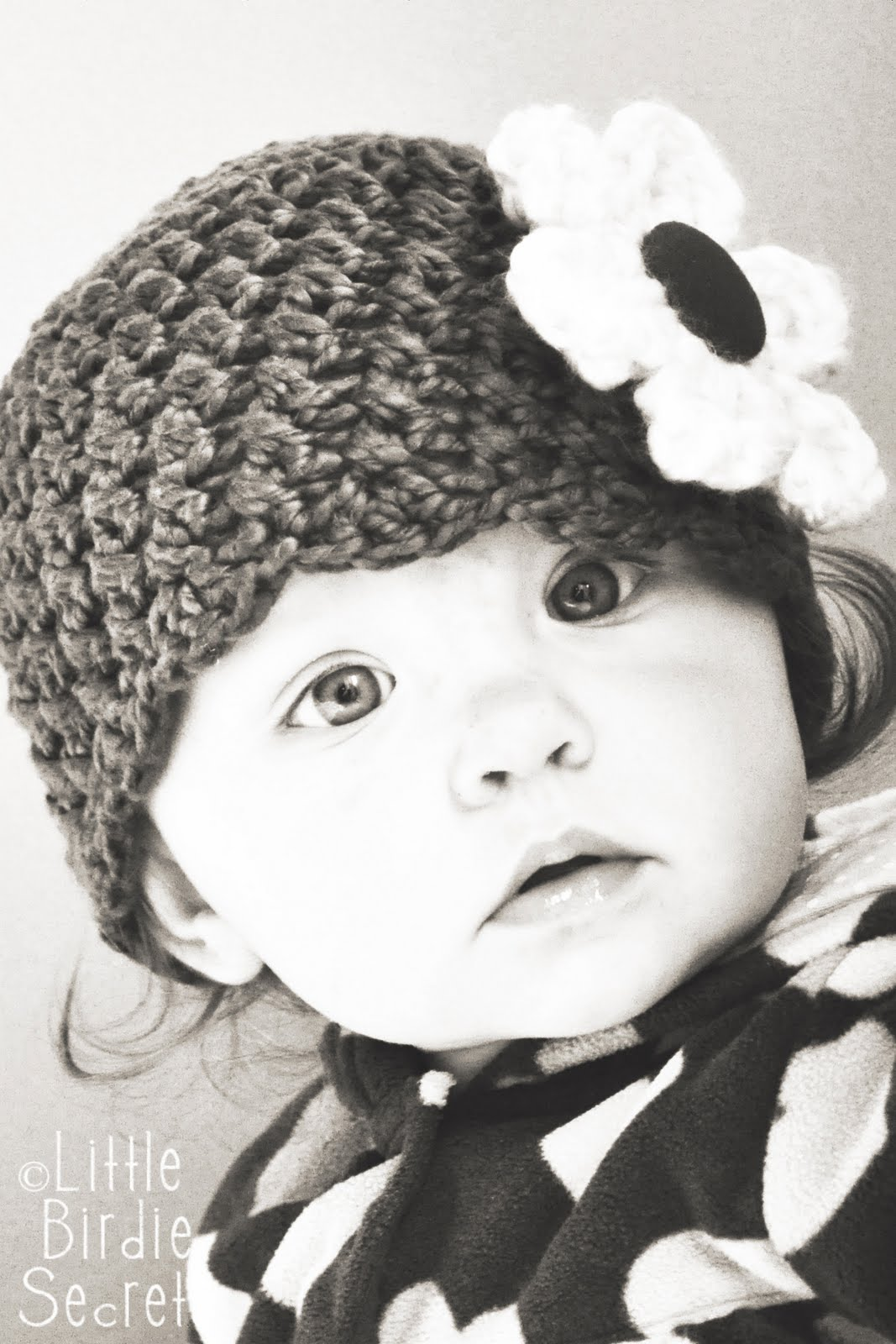 free crochet patterns for beginners baby hat Baby+beanie+hat+crochet+pattern+flower