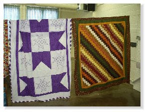 A few of our quilts