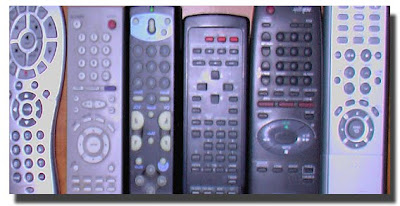 Universal Remote Control- Organize clutter