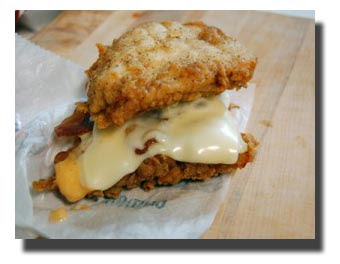 KFC New Sandwich : Double Down KFC