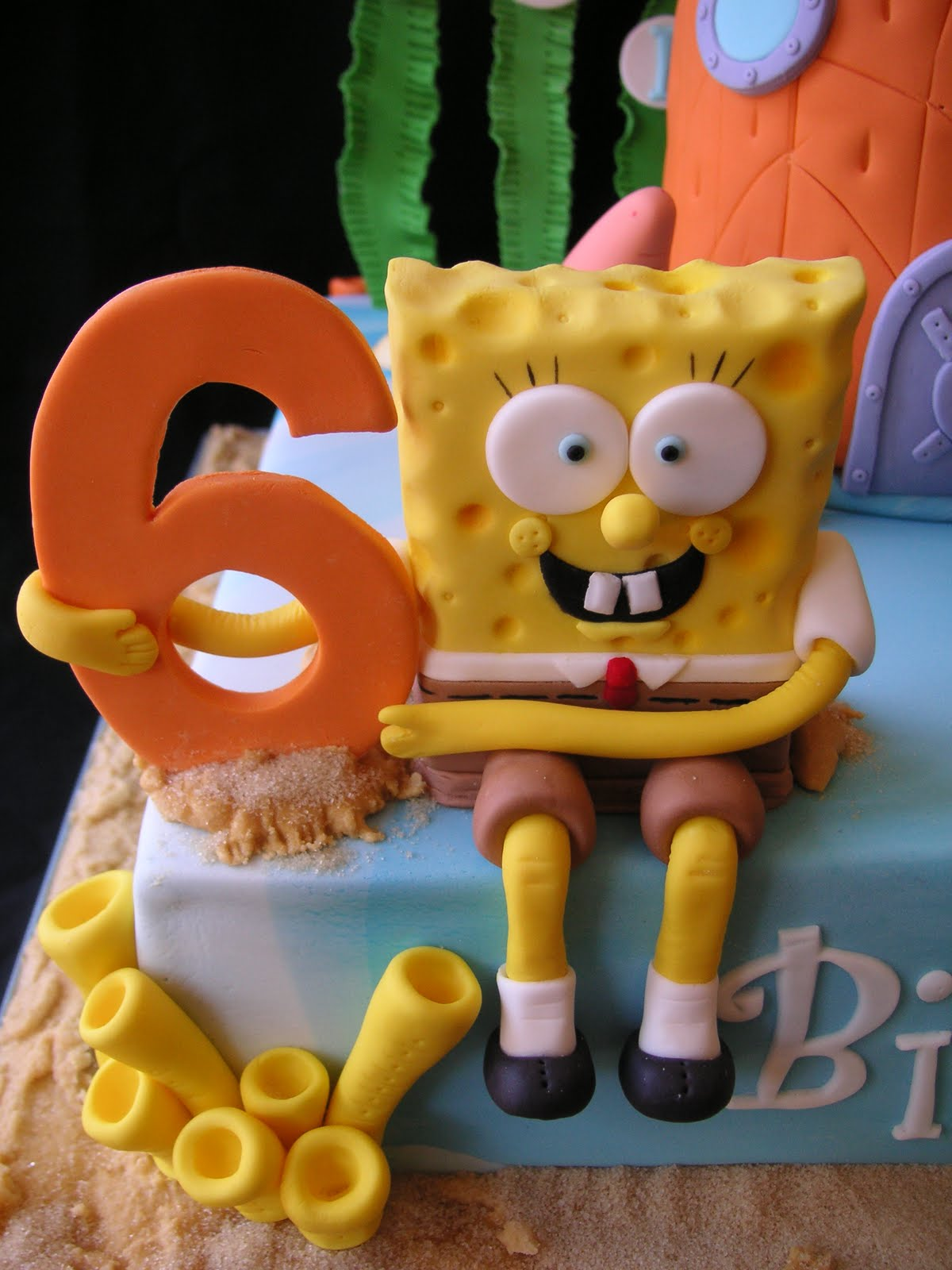 coolest cupcakes spongebob and friends cake