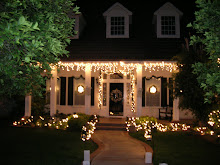 Evans house at Christmas