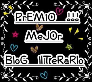 Premio mejor blog literario