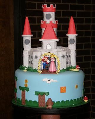 Super Mario Wedding Cakes ~ Wedding Dresses and Cakes