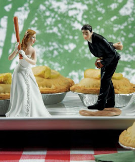 Unusual Wedding Cake Toppers Sports Edition: Baseball