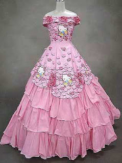 Weird Wedding Dresses - Hello Kitty