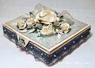 A beautiful box made over at Inspirational