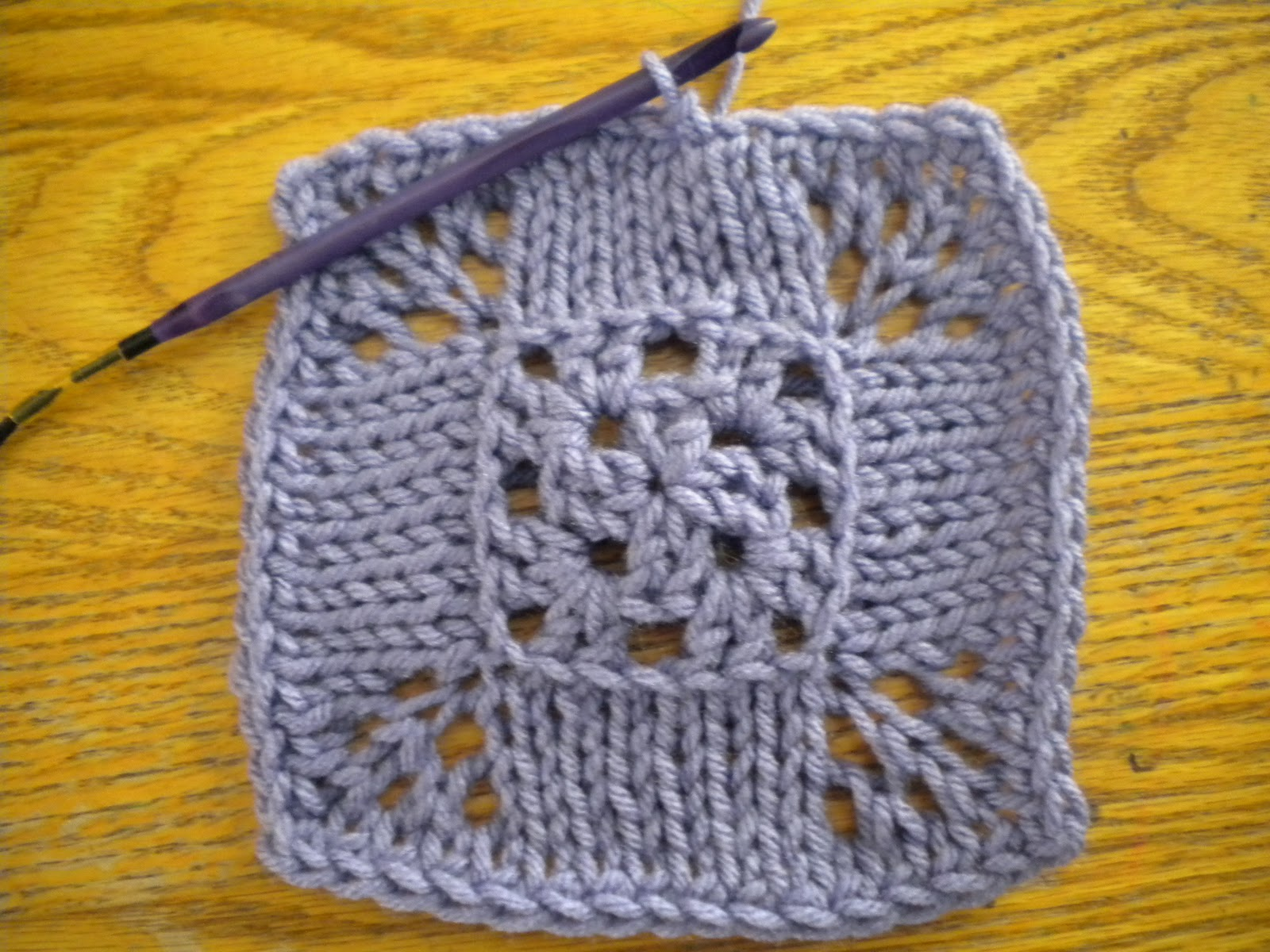 Knook Knitting Patterns : Id Rather Be Knooking: Hybrid Projects