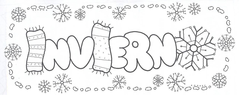 Único Colorear Enero Friso - Dibujos Para Colorear En Línea ...
