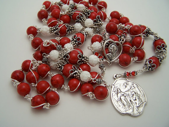 No. 68.  Rosary Chaplet Of The Tears Of Blood- NEW