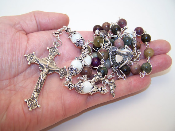 No. 85.  Chaplet of The (5) Five Wounds- NEW (SOLD)
